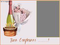 Crea cartoline personalizzate di compleanno | Buon Compleanno ...! - Cornice foto