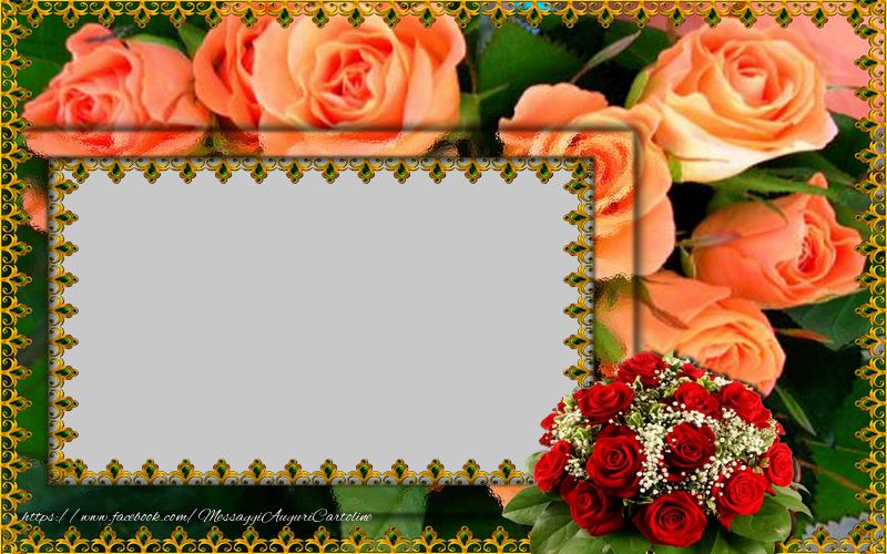 Crea cartoline personalizzate con foto | Cartolina personalizzata con fiori
