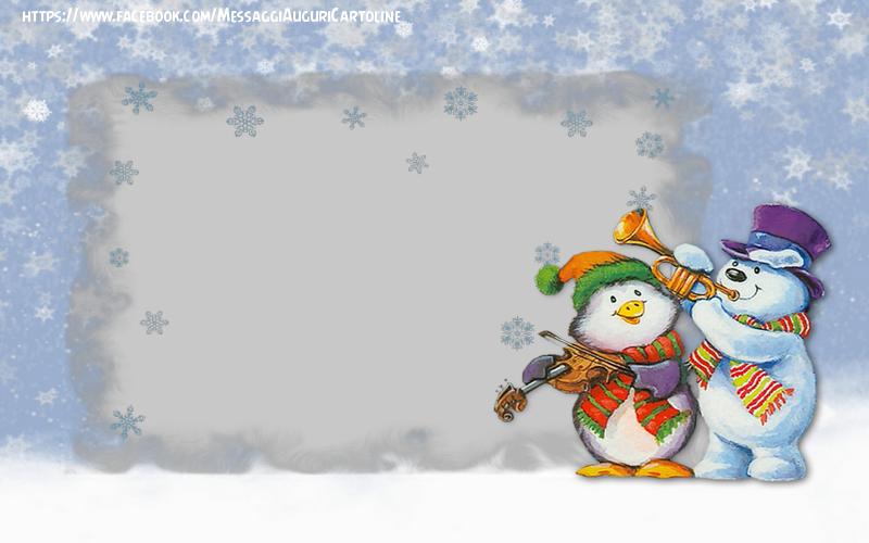 Crea cartoline personalizzate con foto   Paesaggio invernale