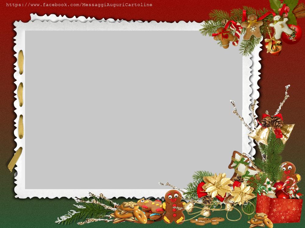 Cornici Foto Di Natale.Crea Immagini Personalizzate Cornice Di Natale