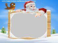 Crea cartoline personalizzate con foto | Babbo Natale