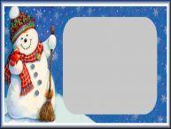 Crea cartoline personalizzate con foto | Snowman
