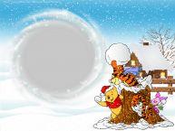 Crea cartoline personalizzate con foto   Rama foto de iarna