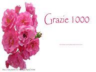 Crea cartoline personalizzate di grazie | GRAZIE 1000 ...