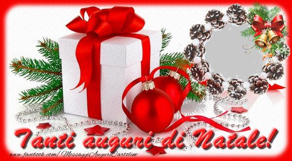 Cartoline Di Natale.Cartoline Con Foto Profile Facebook Natale Tanti Auguri