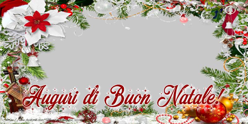 Crea cartoline personalizzate di Natale | Auguri di Buon Natale!