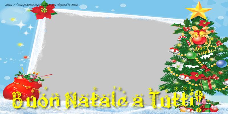 Buon Natale Tutti.Crea Cartoline Personalizzate Con Foto Natale Merry
