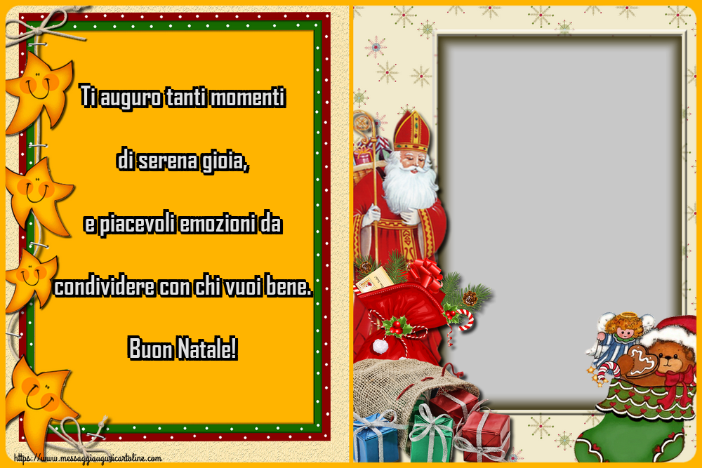 Crea Cartoline Personalizzate Con Foto Natale Ti Auguro