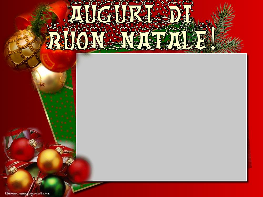 Foto Con Auguri Di Buon Natale.Crea Cartoline Personalizzate Con Foto Natale Auguri Di