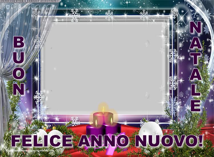 Crea cartoline personalizzate di Natale   Cornice foto di Natale