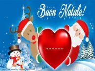 Crea cartoline personalizzate di Natale | Testo nel cuore! Buon Natale ...!