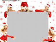 Crea cartoline personalizzate di Natale | Cornice foto di Natale