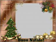 Crea cartoline personalizzate di Natale | Buon Natale! - Cornice foto di Natale