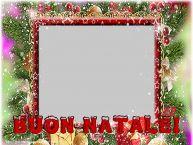 Crea cartoline personalizzate di Natale | Buon Natale! - Cornice foto di Natale con foto profile facebook