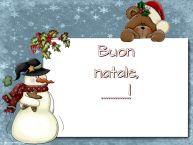 Crea cartoline personalizzate di Natale | Buon natale, ...!