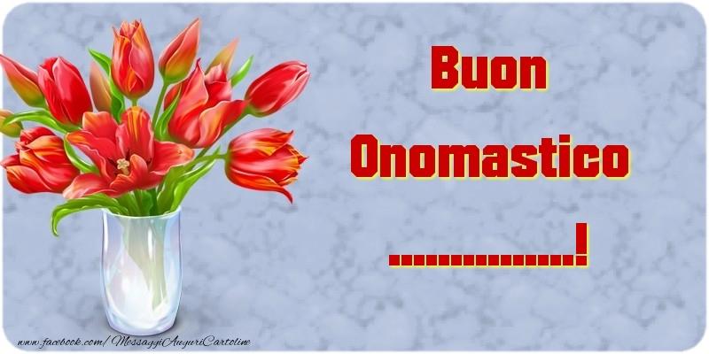 Crea cartoline personalizzate di onomastico | Buon Onomastico ...