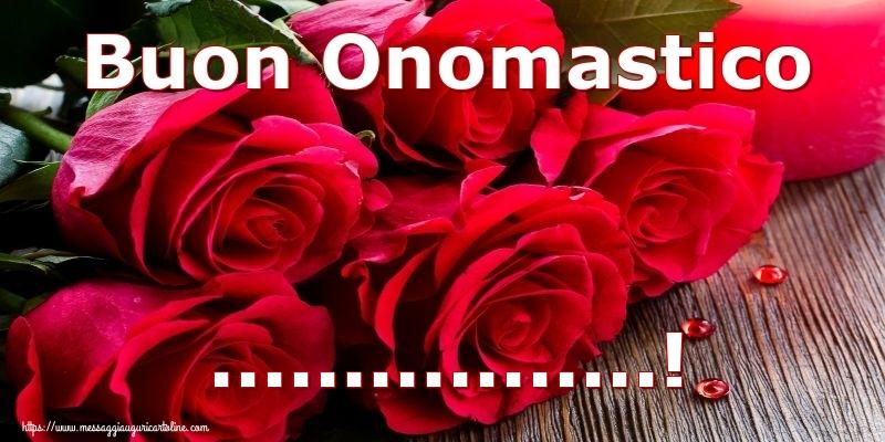 Crea cartoline personalizzate di onomastico | Buon Onomastico ...!