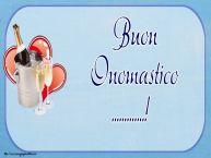 Crea cartoline personalizzate di onomastico   Buon Onomastico ...!