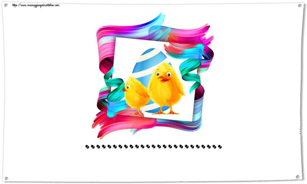 Crea cartoline personalizzate di Pasqua   ...
