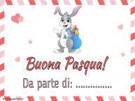 Crea cartoline personalizzate di Pasqua | Buona Pasqua! Da parte di: ...