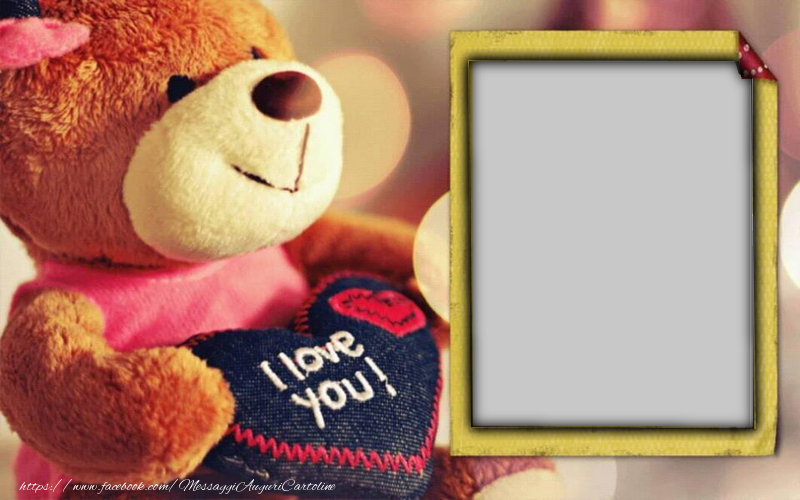 Crea cartoline personalizzate di San Valentino | I love you