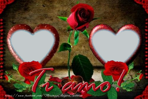 Crea cartoline personalizzate di San Valentino | Ti amo