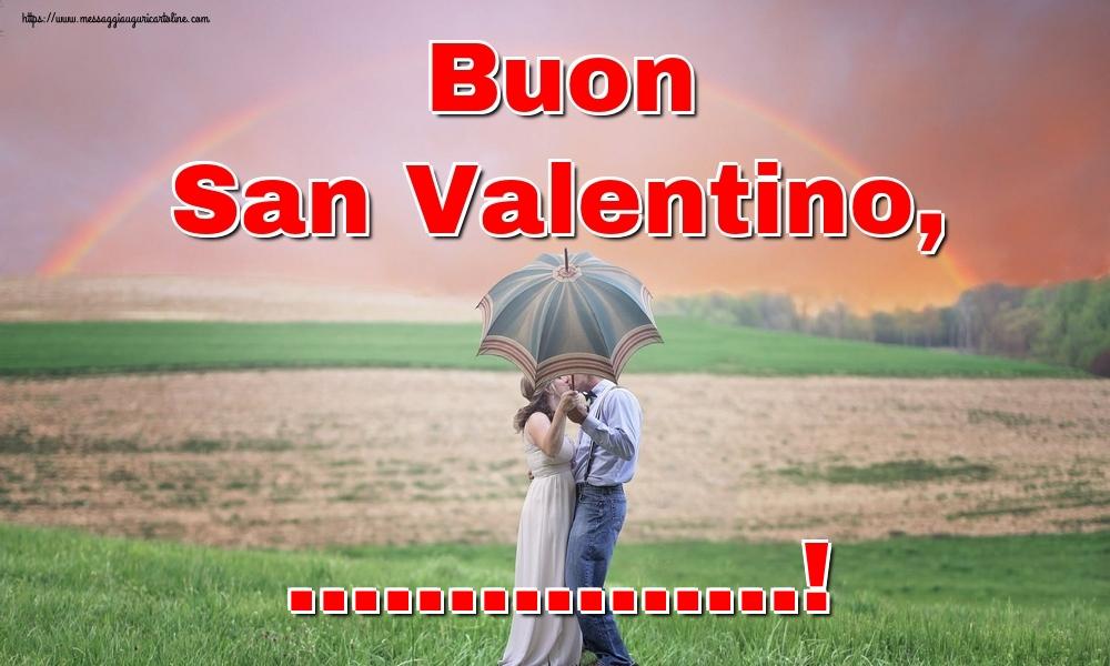 Crea cartoline personalizzate di San Valentino | Buon San Valentino, ...!