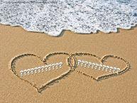 Crea cartoline personalizzate di San Valentino | Due cuori con nomi ... ...