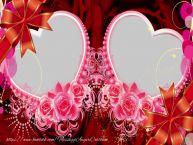 Crea cartoline personalizzate di San Valentino | Photo frame con cuori