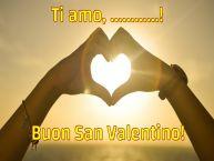 Crea cartoline personalizzate di San Valentino   Ti amo, ...! Buon San Valentino!