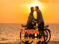 Crea cartoline personalizzate di San Valentino | Ti amo, ...!