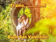 Crea cartoline personalizzate di San Valentino | Ti amo, ...! Buon San Valentino!